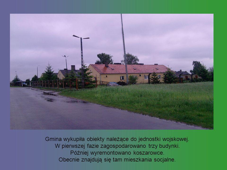 Gmina wykupiła obiekty należące do jednostki wojskowej