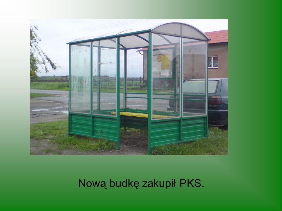 Nową budkę zakupił PKS.
