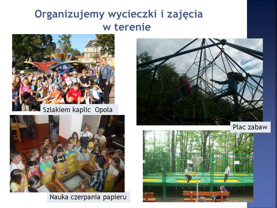 Organizujemy wycieczki i zajęcia w terenie
