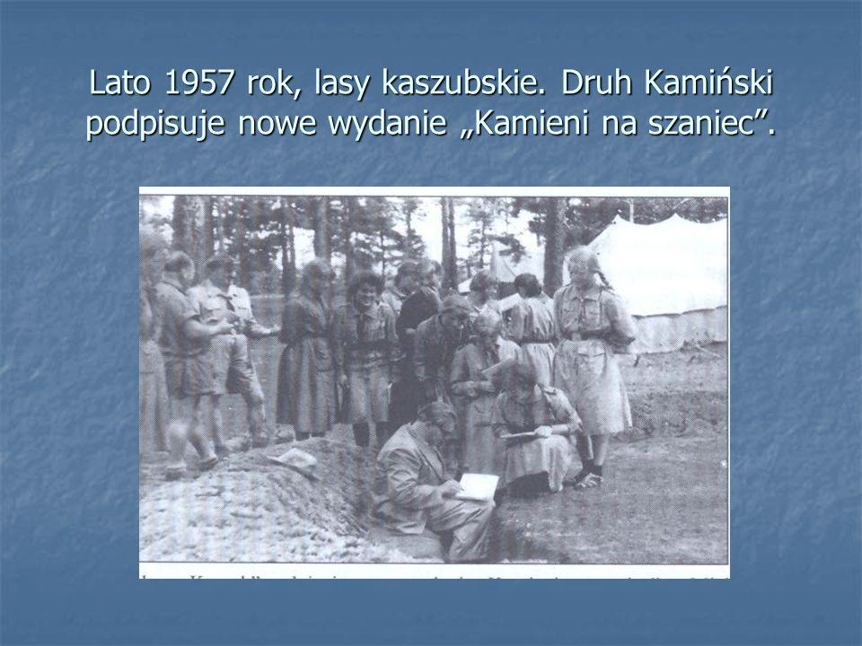 Lato 1957 rok, lasy kaszubskie
