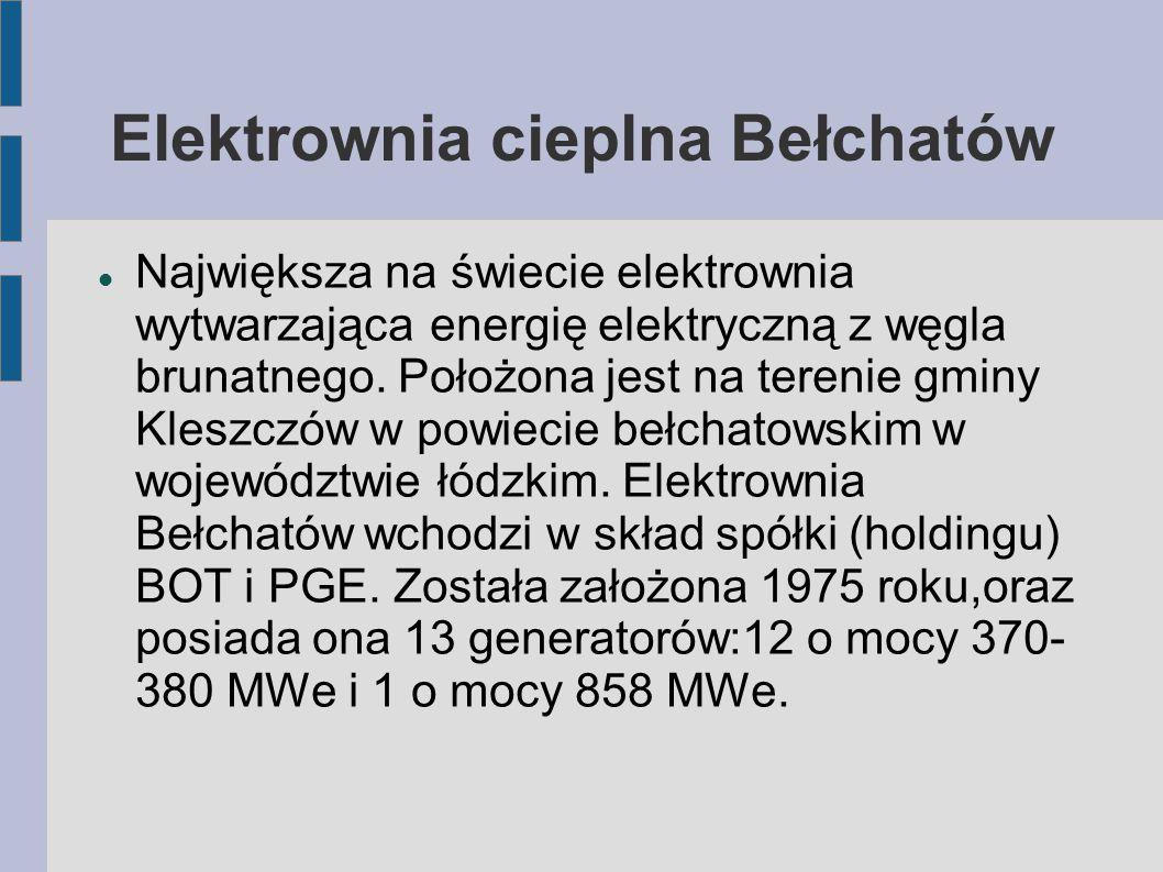 Elektrownia cieplna Bełchatów