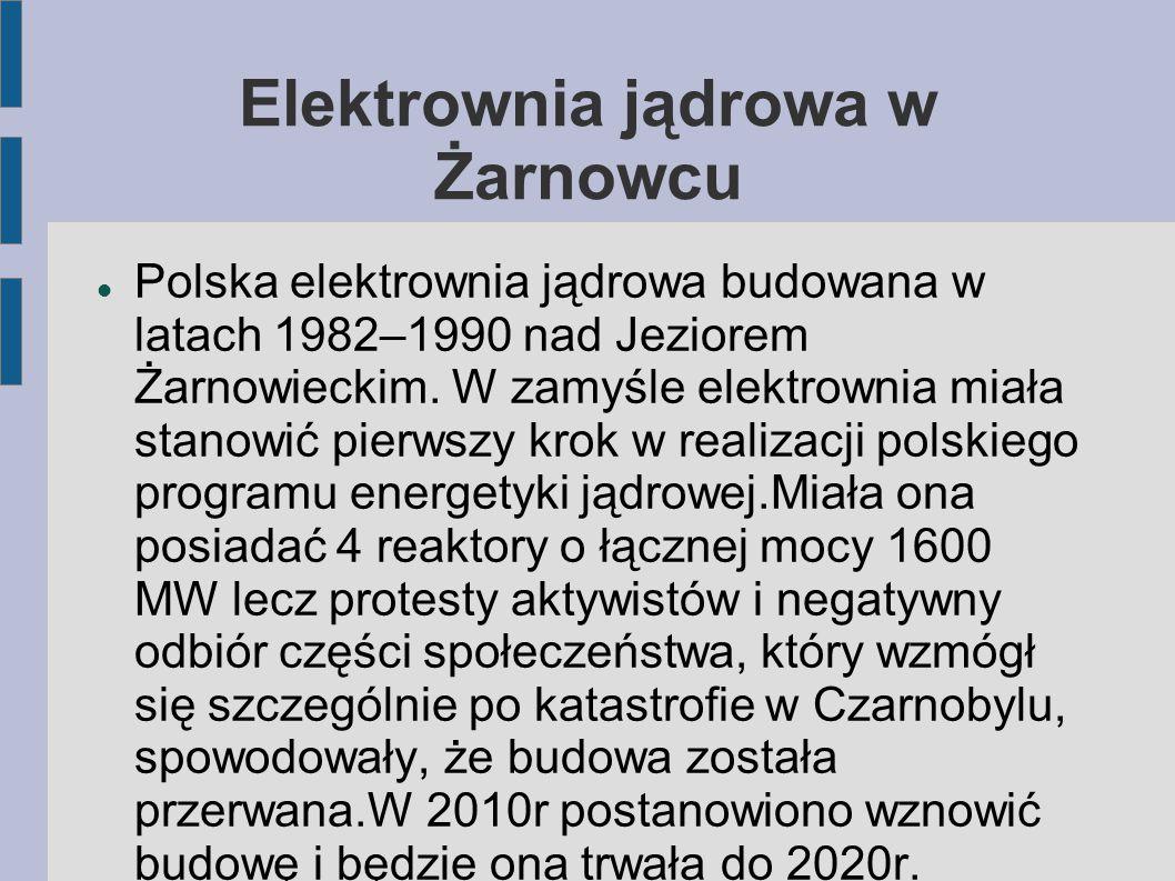 Elektrownia jądrowa w Żarnowcu