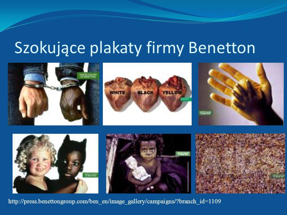Szokujące plakaty firmy Benetton