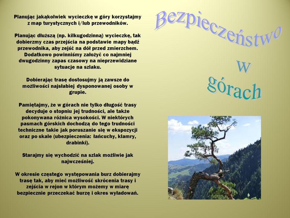 Bezpieczeństwo w górach