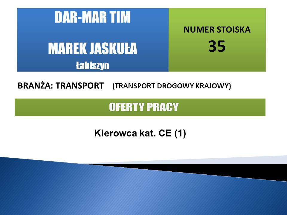 DAR-MAR TIM MAREK JASKUŁA