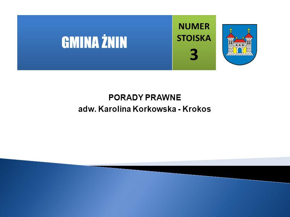 adw. Karolina Korkowska - Krokos
