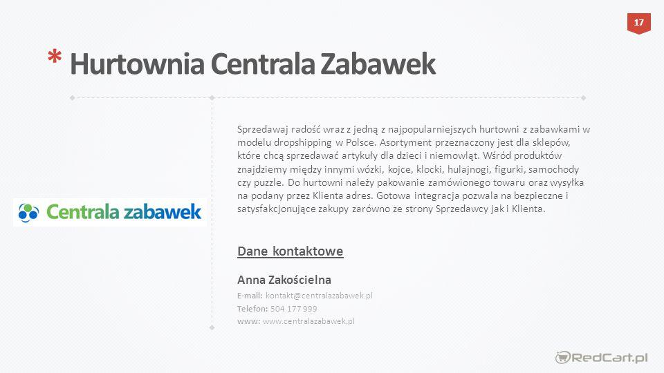 * Hurtownia Centrala Zabawek