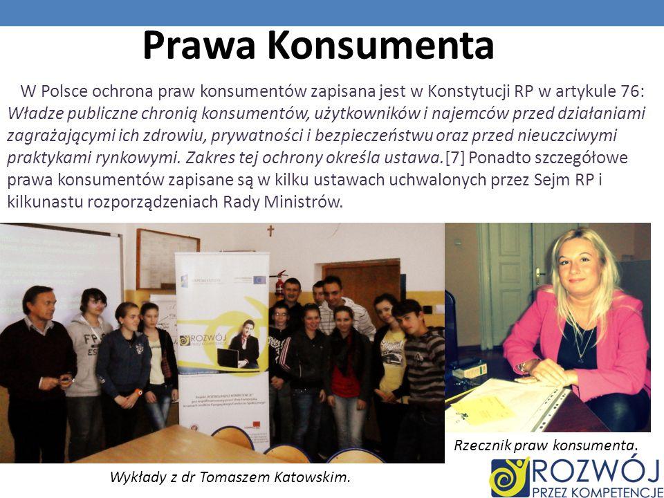 Wykłady z dr Tomaszem Katowskim.