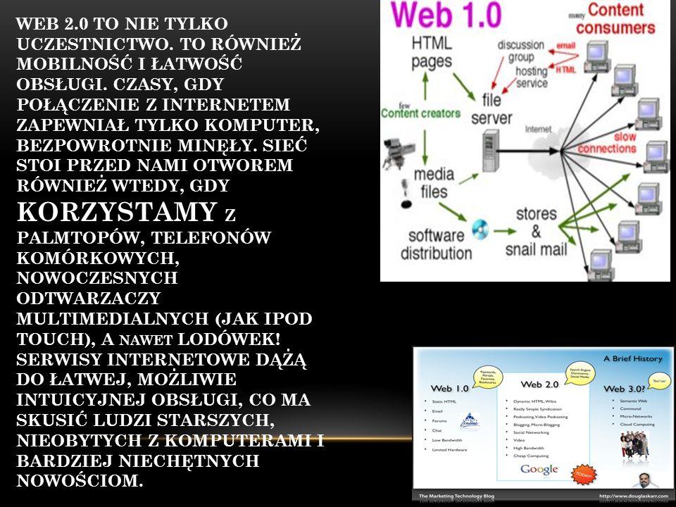 Web 2. 0 to nie tylko uczestnictwo