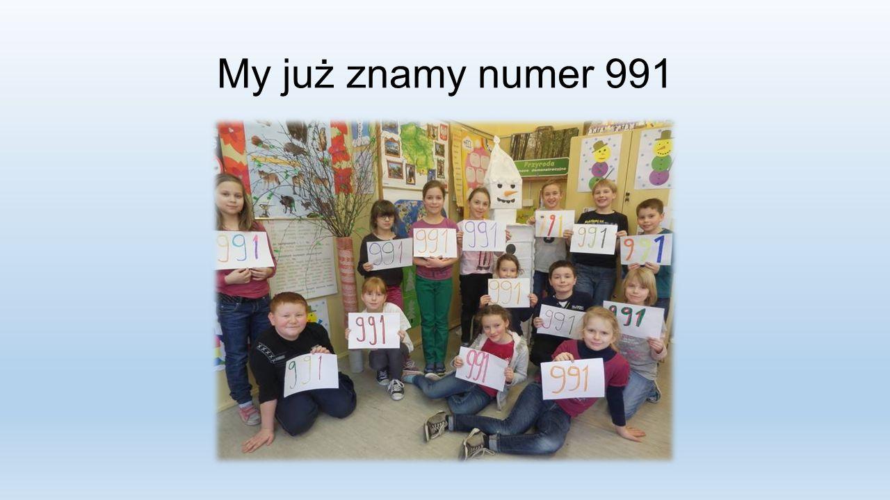 My już znamy numer 991