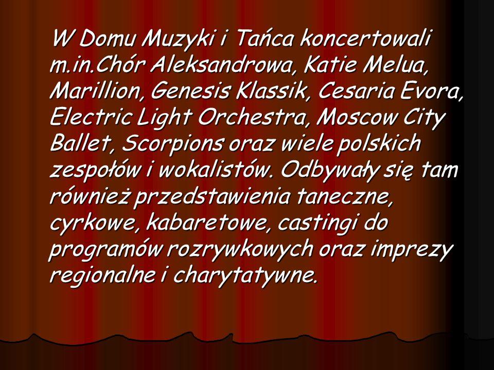 W Domu Muzyki i Tańca koncertowali m. in