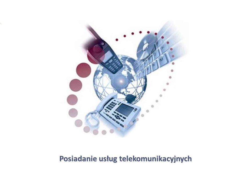 Posiadanie usług telekomunikacyjnych