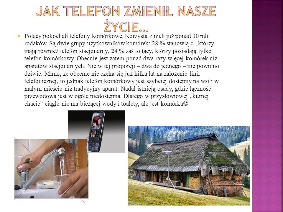 Jak telefon zmienił nasze życie…
