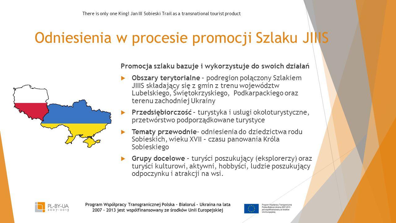 Odniesienia w procesie promocji Szlaku JIIIS