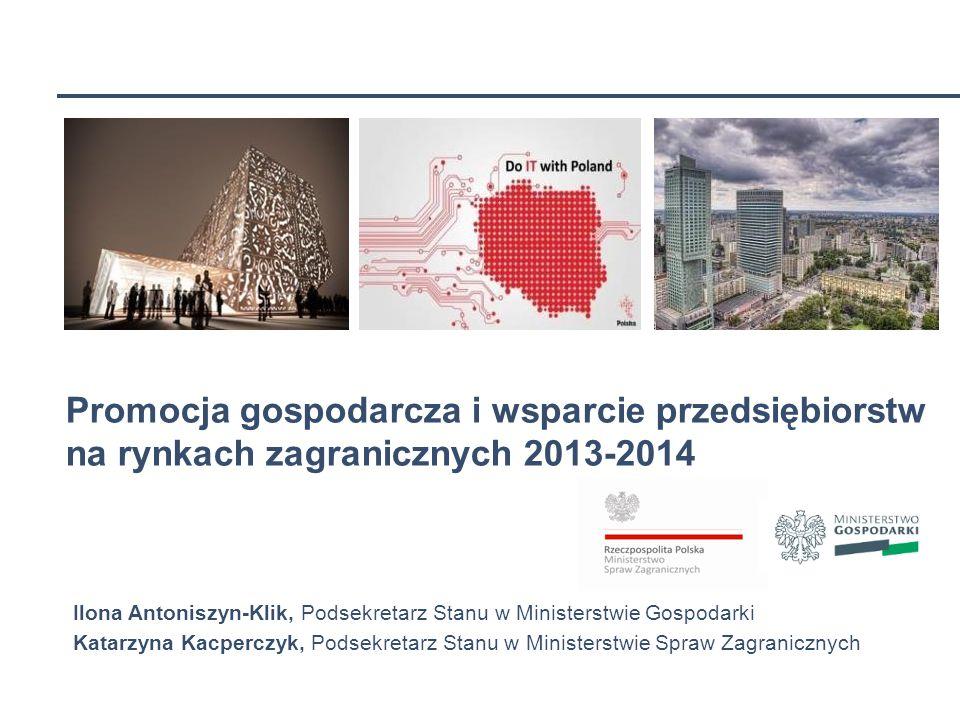 WAW-161714031-20070109-15210 Promocja gospodarcza i wsparcie przedsiębiorstw na rynkach zagranicznych 2013-2014.