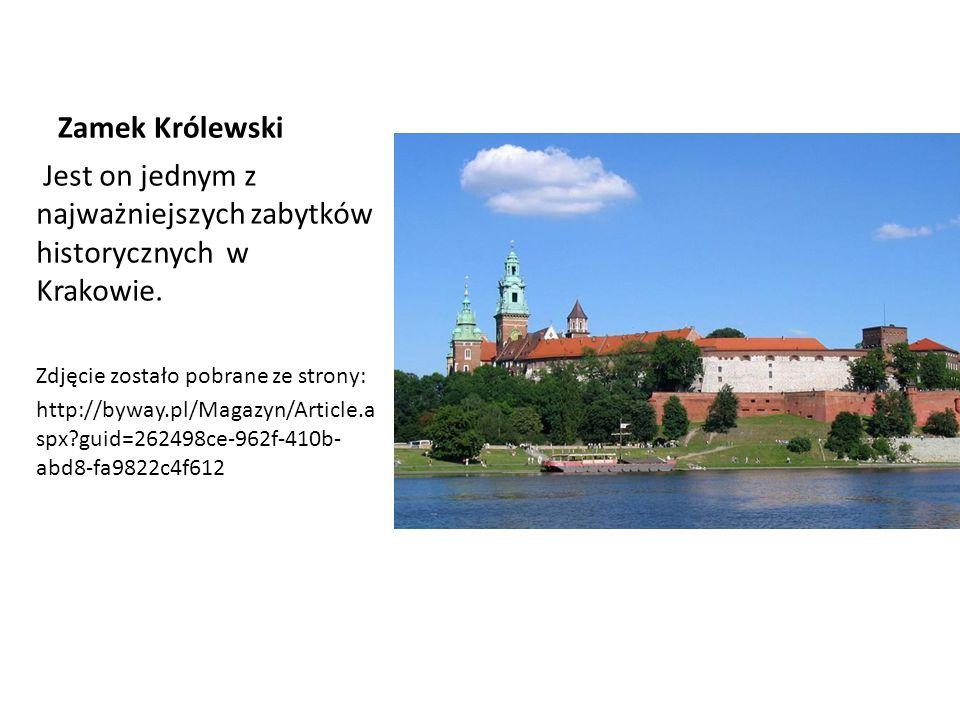 Jest on jednym z najważniejszych zabytków historycznych w Krakowie.