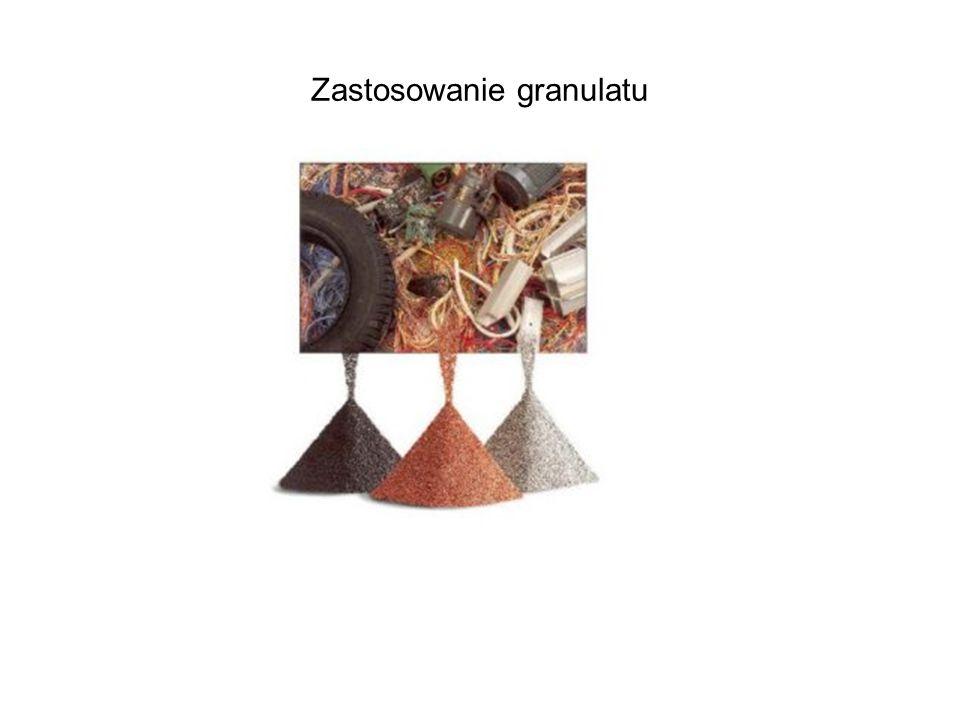 Zastosowanie granulatu
