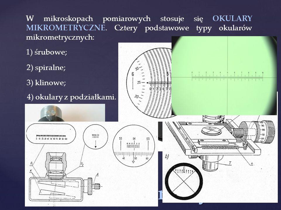 Okulary mikrometryczne