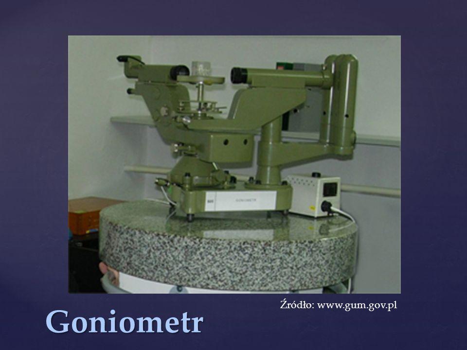 Goniometr Źródło: www.gum.gov.pl