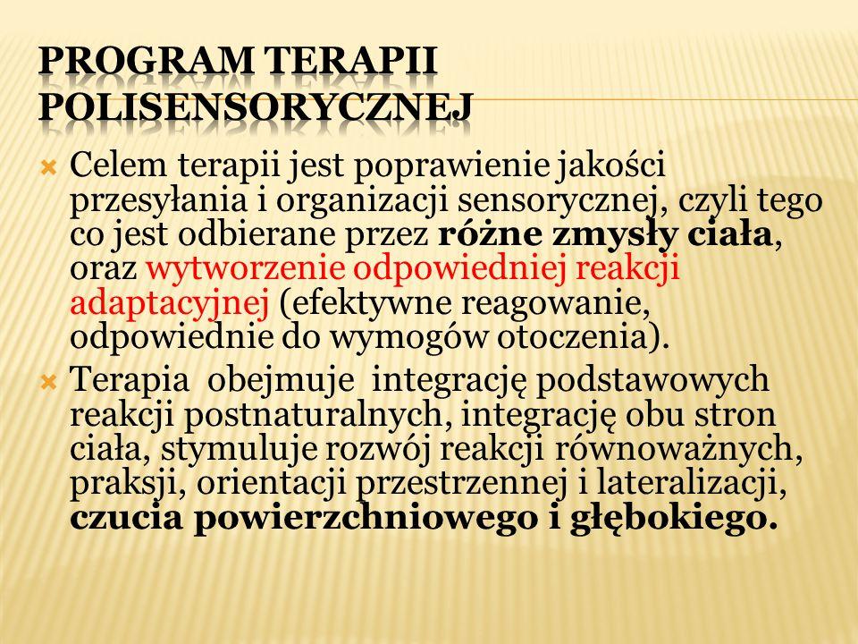 PROGRAM TERAPII polisensorycznej