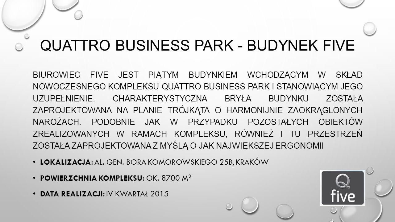 Quattro Business Park - Budynek FIVE