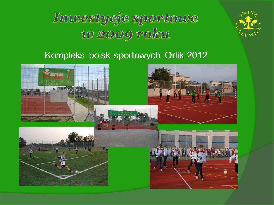 Inwestycje sportowe w 2009 roku