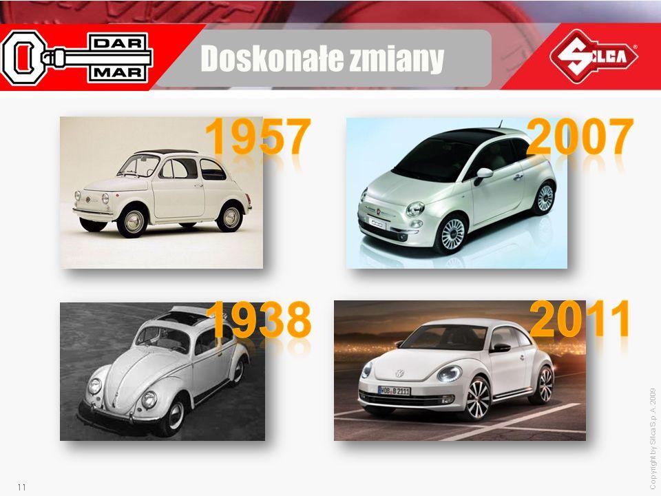 Doskonałe zmiany 1957 2007 1938 2011