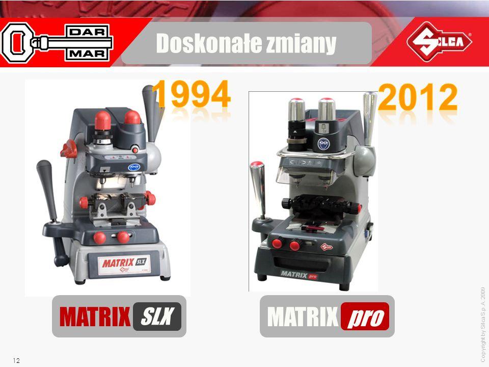 Doskonałe zmiany 1994 MATRIX SLX 2012 MATRIX pro