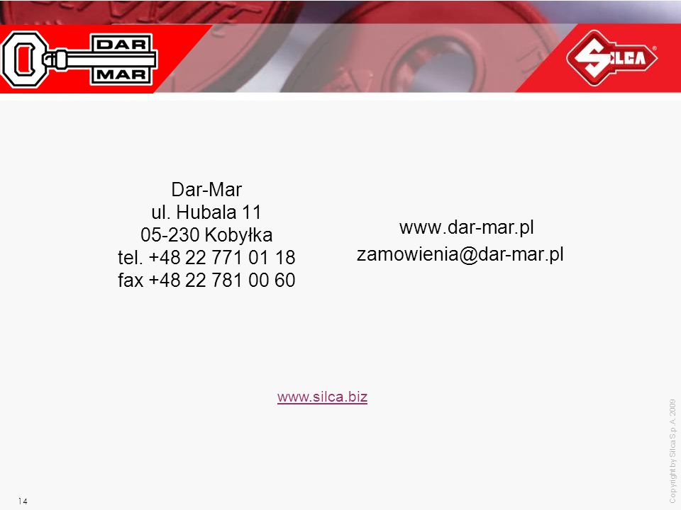 Dar-Mar ul. Hubala 11 05-230 Kobyłka tel