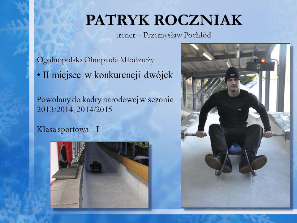 trener – Przemysław Pochłód