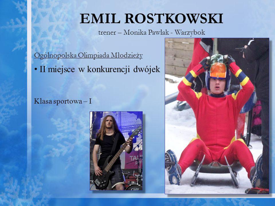 trener – Monika Pawlak - Warzybok