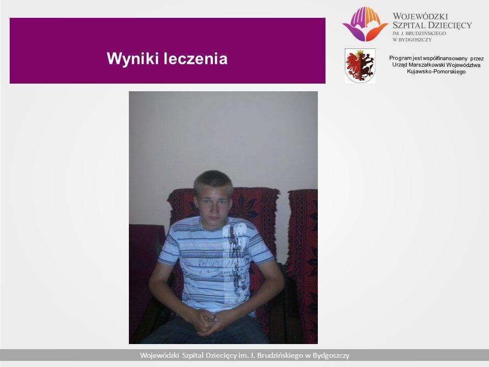 Wyniki leczenia Program jest współfinansowany przez Urząd Marszałkowski Województwa Kujawsko-Pomorskiego.