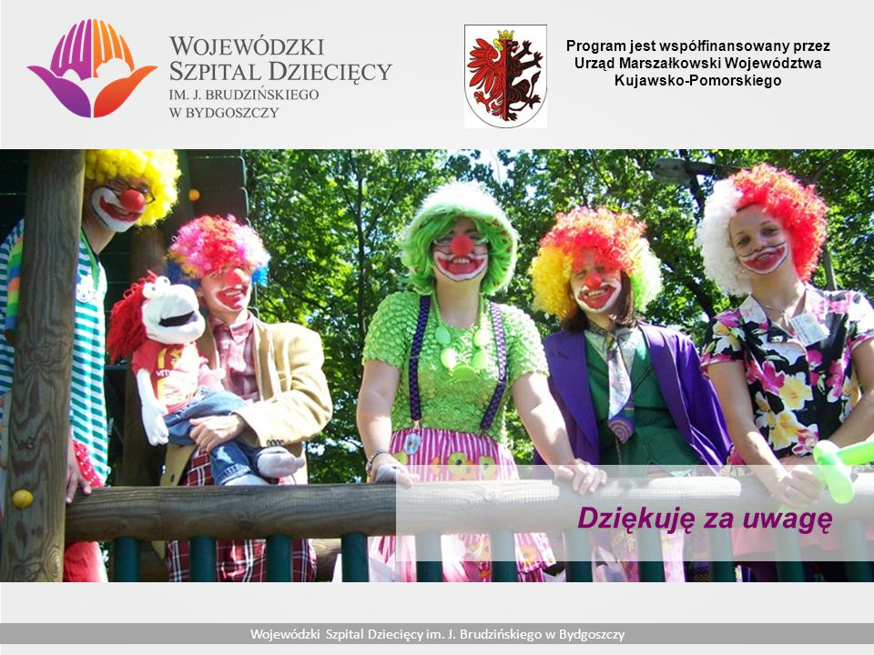 Program jest współfinansowany przez Urząd Marszałkowski Województwa Kujawsko-Pomorskiego