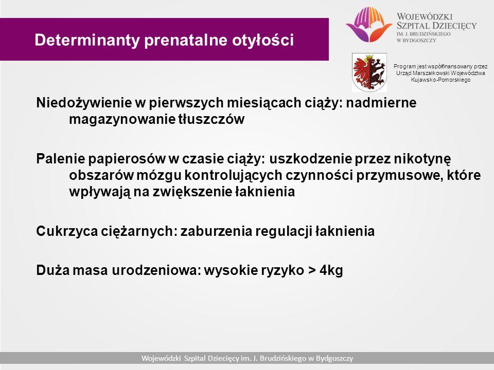 Determinanty prenatalne otyłości