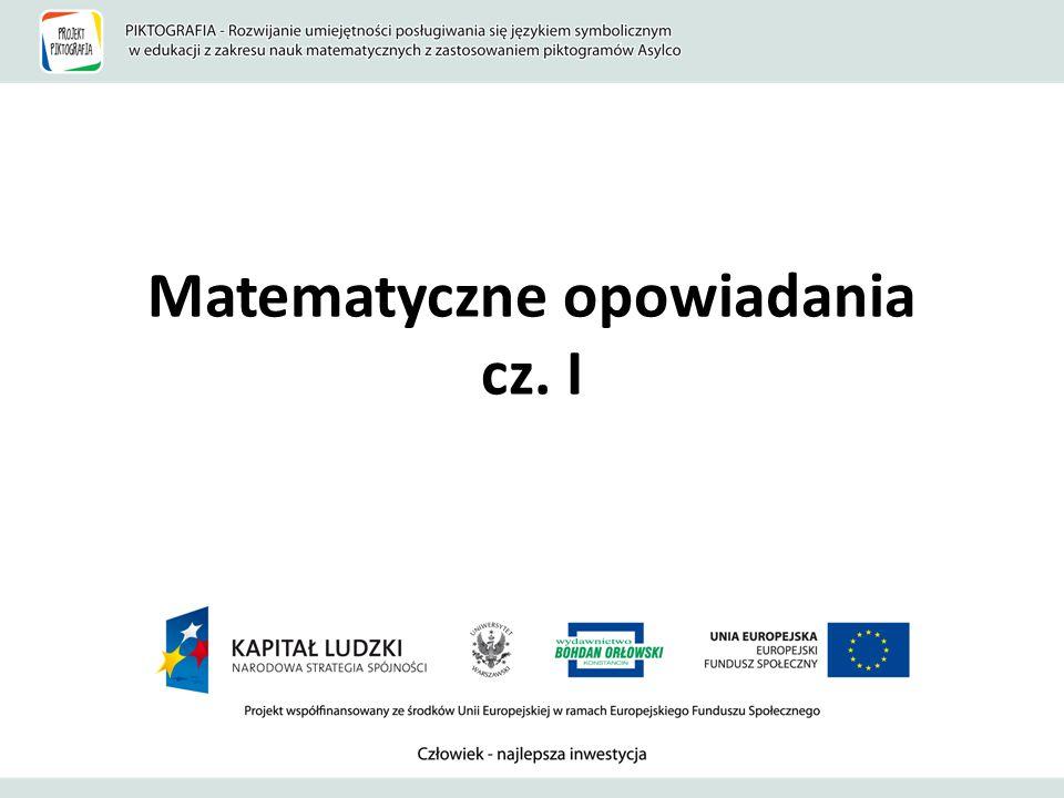 Matematyczne opowiadania cz. I