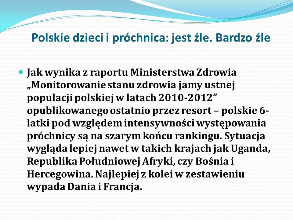 Polskie dzieci i próchnica: jest źle. Bardzo źle