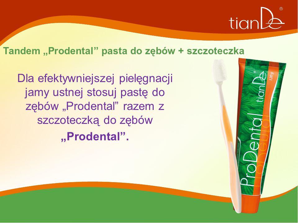 """Tandem """"Prodental pasta do zębów + szczoteczka"""