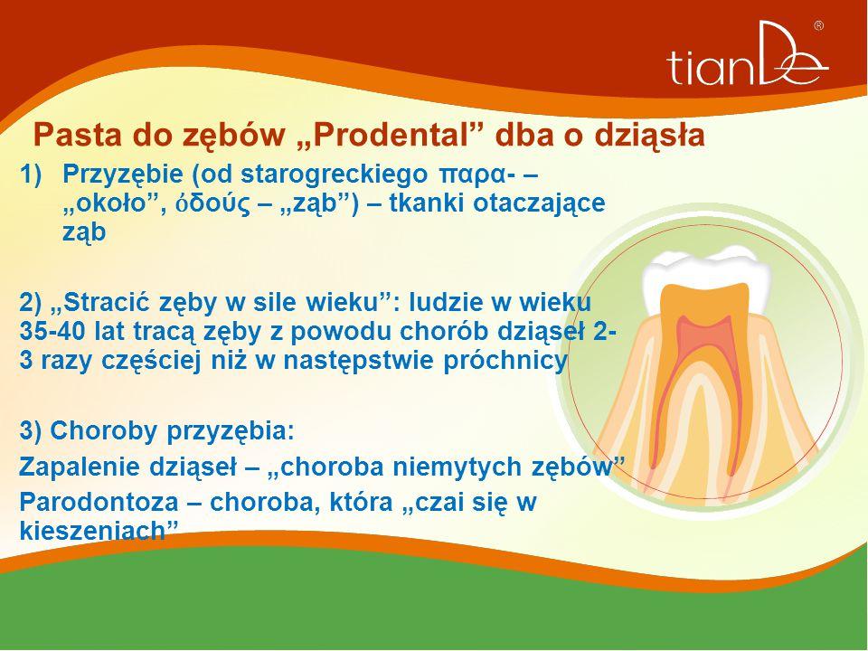 """Pasta do zębów """"Prodental dba o dziąsła"""