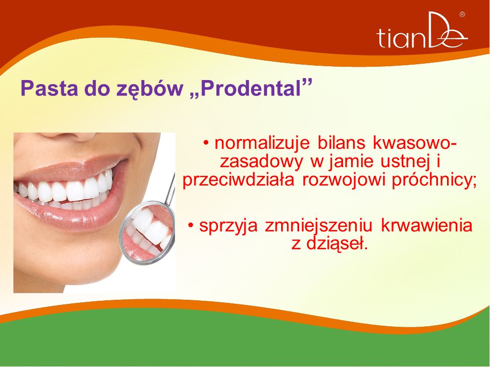"""Pasta do zębów """"Prodental"""