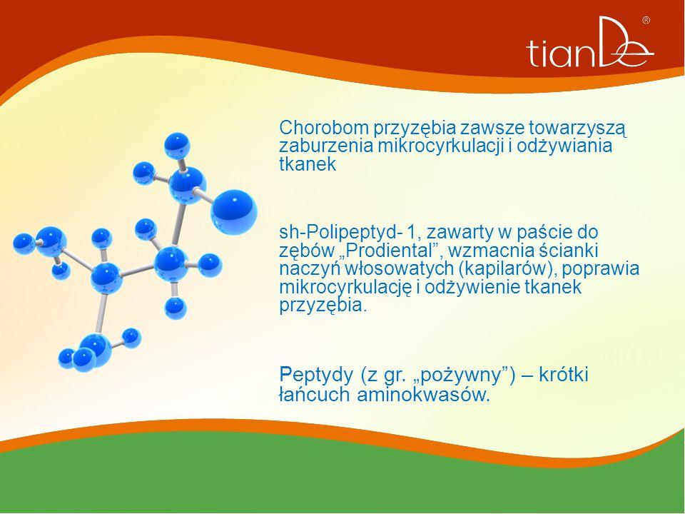 """Peptydy (z gr. """"pożywny ) – krótki łańcuch aminokwasów."""