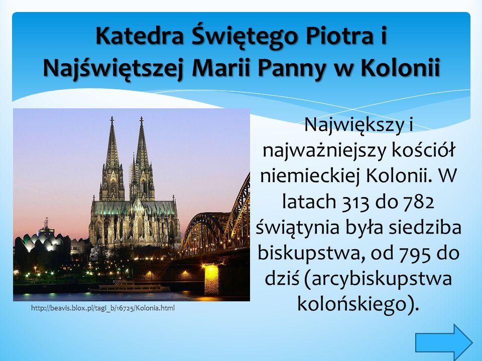 Katedra Świętego Piotra i Najświętszej Marii Panny w Kolonii