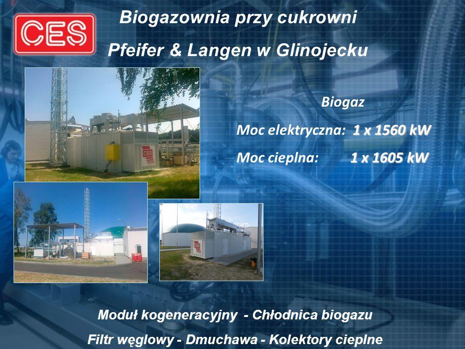 Biogazownia przy cukrowni Pfeifer & Langen w Glinojecku