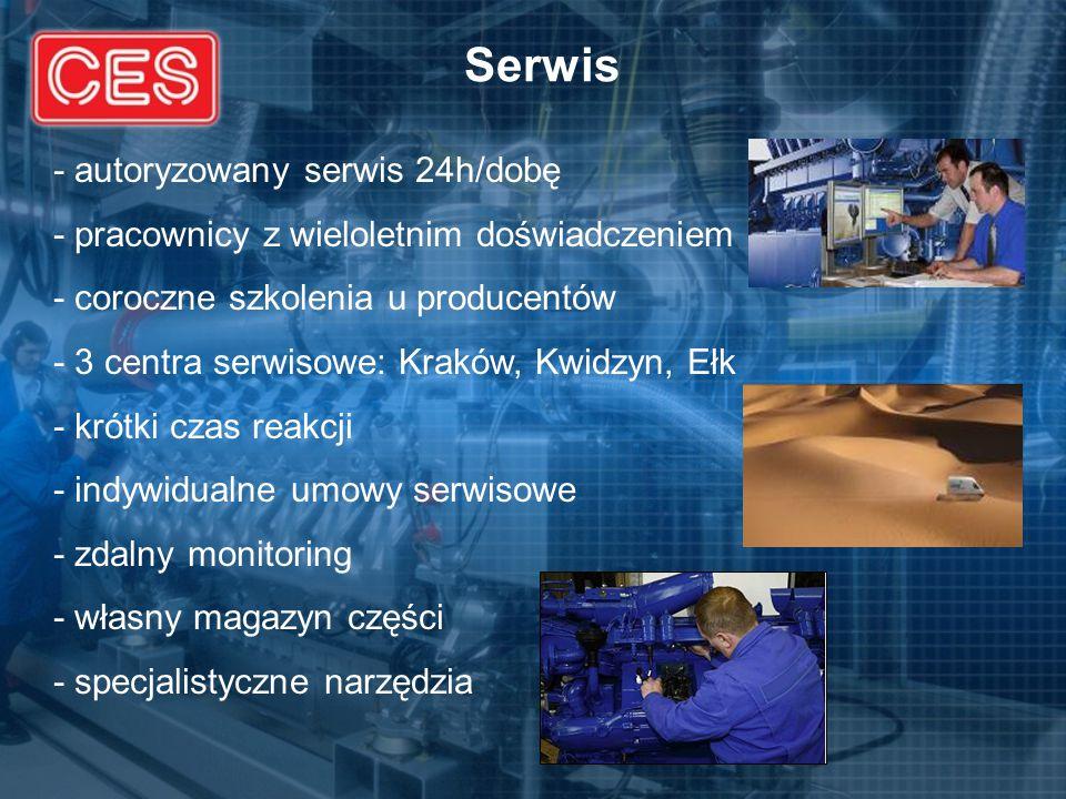 Serwis - autoryzowany serwis 24h/dobę