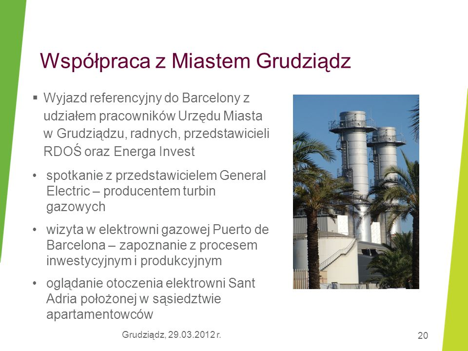Współpraca z Miastem Grudziądz