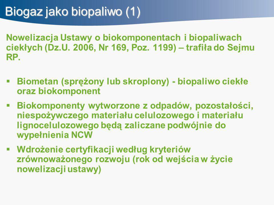Biogaz jako biopaliwo (1)