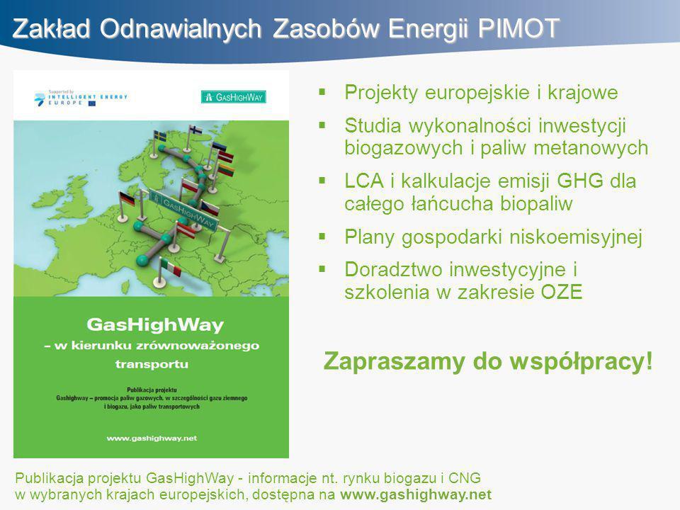 Zakład Odnawialnych Zasobów Energii PIMOT