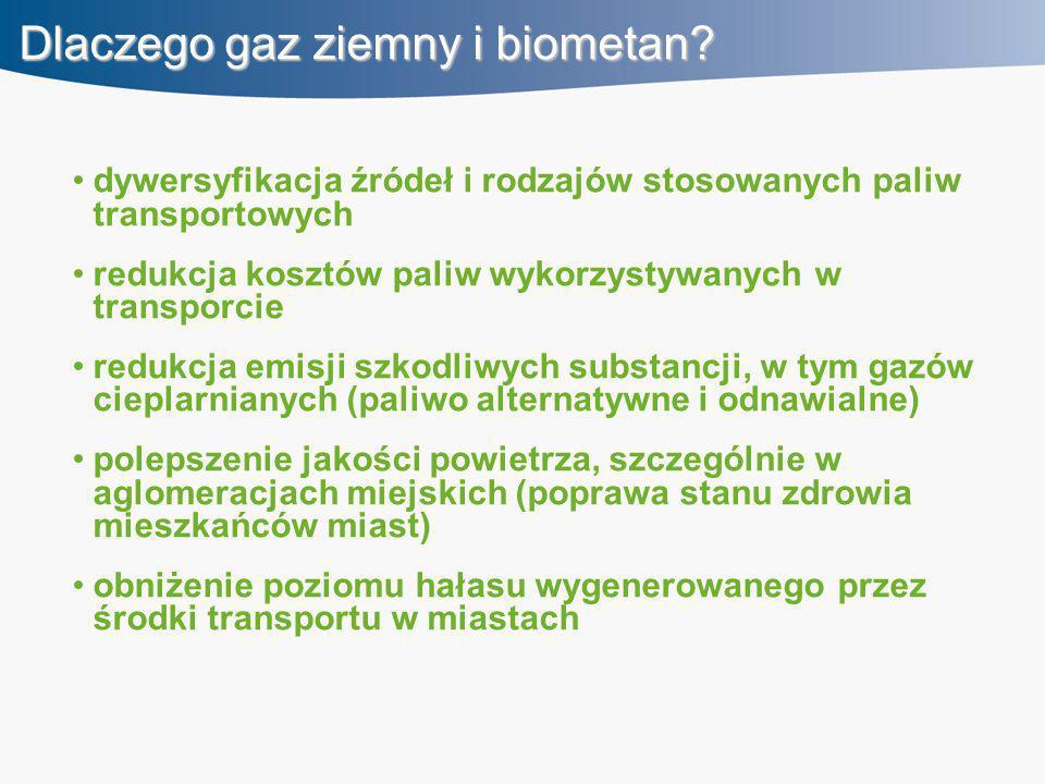 Dlaczego gaz ziemny i biometan