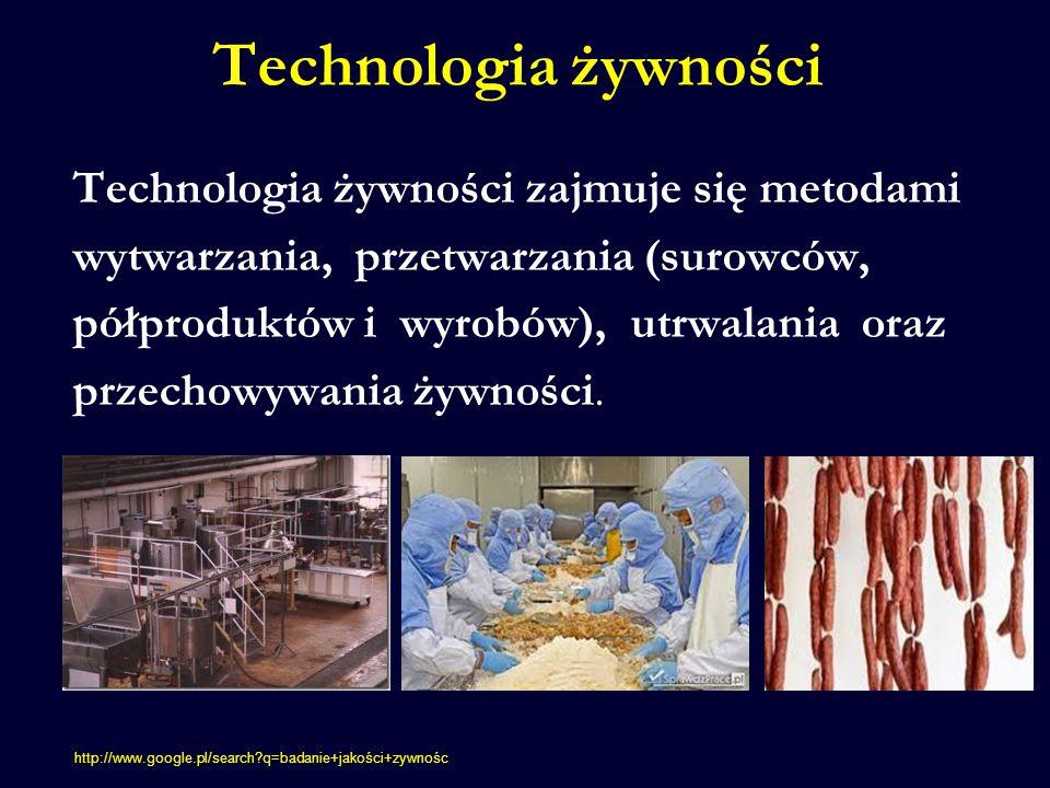 Technologia żywności