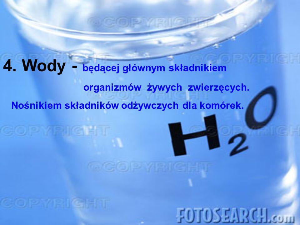 Wody - będącej głównym składnikiem