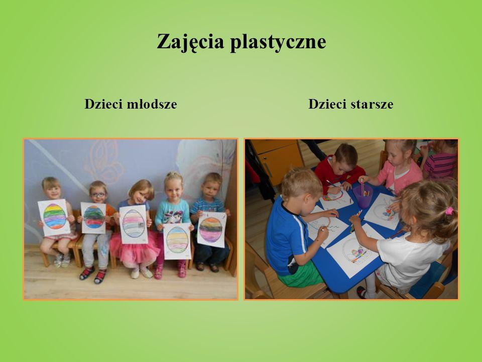 Zajęcia plastyczne Dzieci młodsze Dzieci starsze